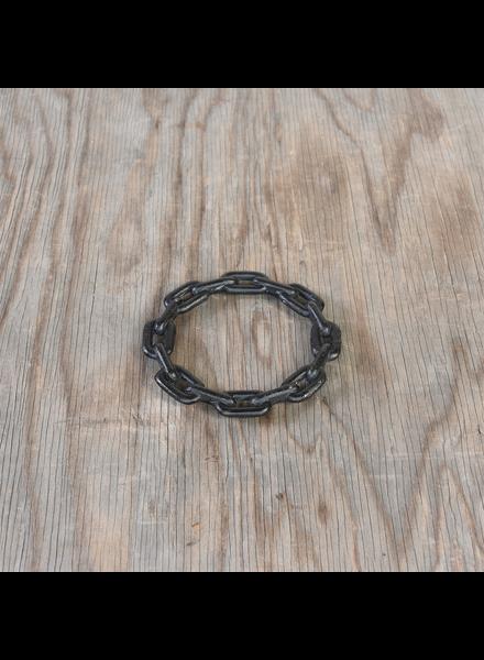 HomArt Chain Trivet, Cast Iron - Sm - Black