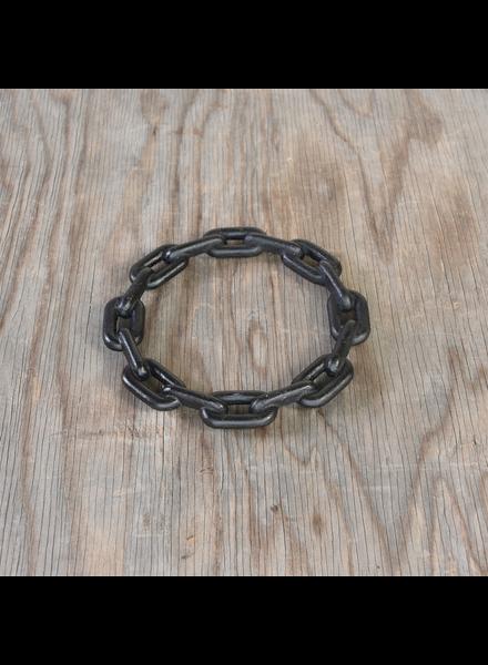 HomArt Chain Trivet, Cast Iron - Lrg - Black