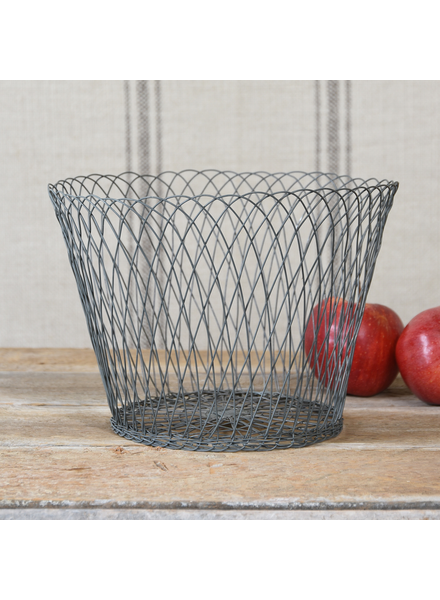 HomArt Large Tulle Wire Basket