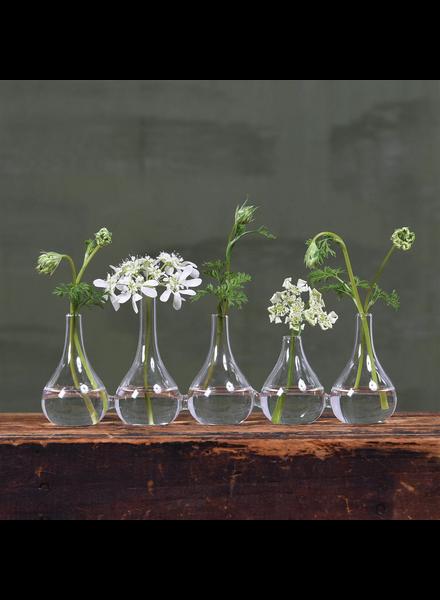 HomArt Quintet Glass Vase