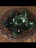HomArt Cler Solid Glass Egg - Set of 2