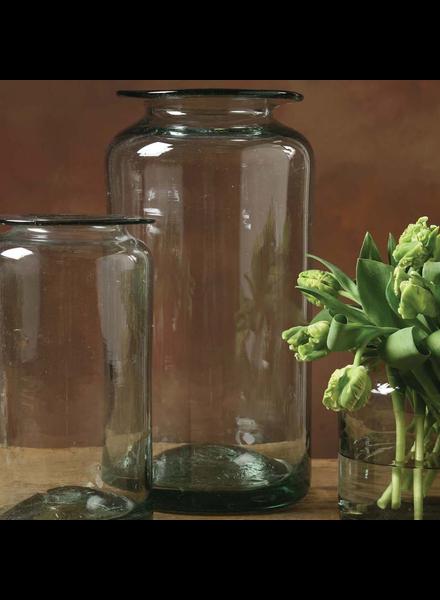 HomArt Seville Recycled Glass Vase - Lrg - Recycled
