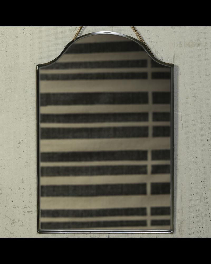 HomArt Farrah Beveled Mirror, Brass - Arch