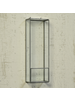 HomArt Pierre Box Shelf, Tall Rectangle - Lrg - Burnt Antique