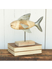HomArt Fish Assemblage, Wood & Metal - Lrg