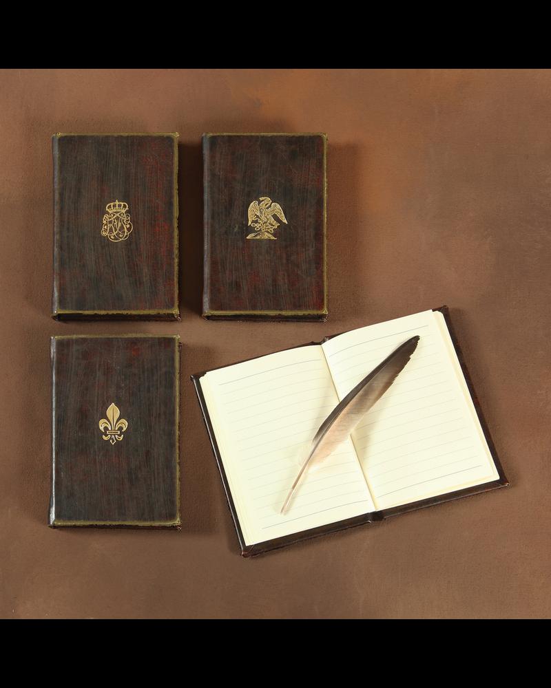 HomArt Royal Embossed Journal - Eagle - Brown