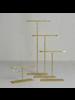 HomArt Maddox Forged Iron Jewelry T Stand - Tall 12 - Brass