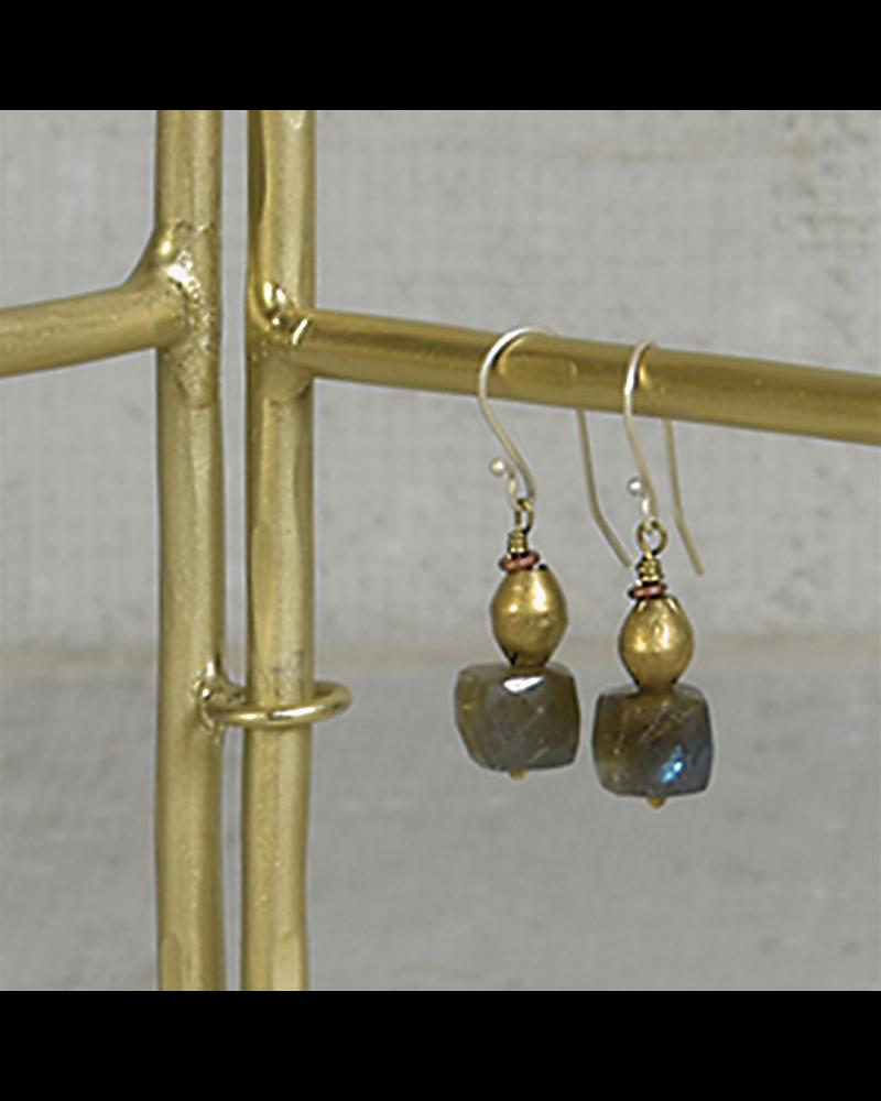 HomArt Maddox Forged Iron Jewelry Hinged Display - 9 - Brass