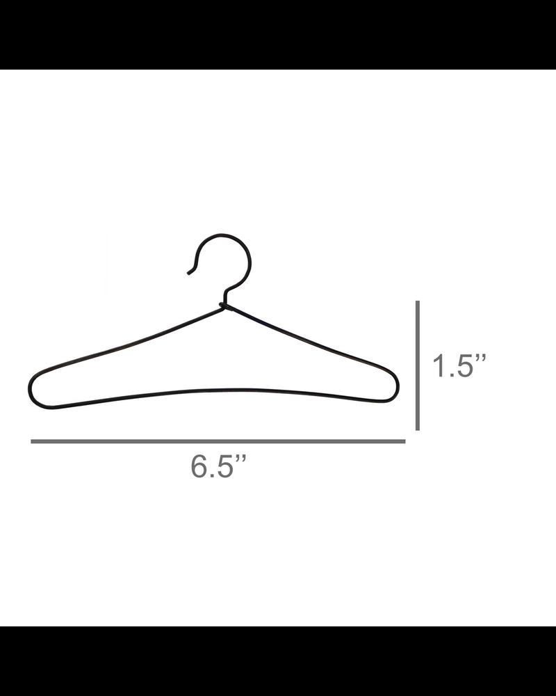 HomArt Hanger - Shoulder Shaped - Black