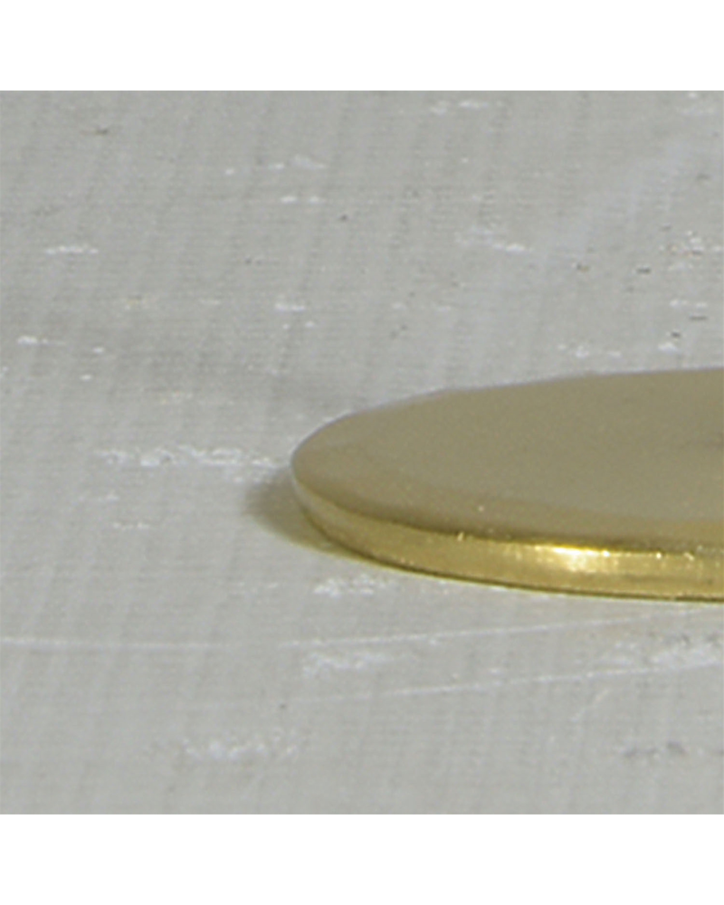 HomArt Maddox Forged Iron Jewelry T Stand - Mini - Brass