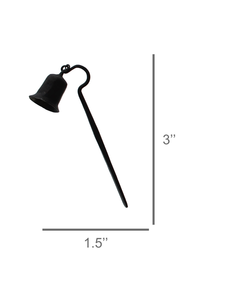 HomArt Forged Candle Snuffer, Iron - Black