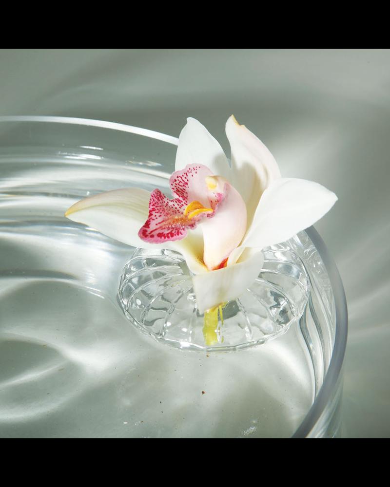 HomArt Flower Floater - Clear - Set of 2