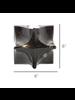 HomArt Morphed Cube, Raw Nickel - Lrg
