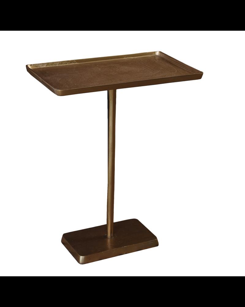 HomArt Buren Side Table, Brass