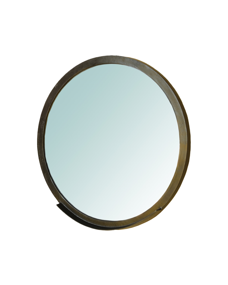 HomArt Ansel Mirror with Ledge, Bronze