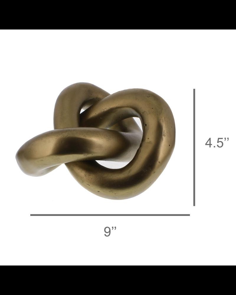 HomArt Infinity Knot, Brass