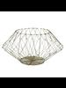 HomArt Edison Wire Basket - Lrg - Natural
