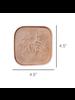 HomArt Pink Tilda Enamel Coaster - Set of 2