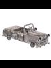 HomArt Rustic Automobile, Antiqued Metal