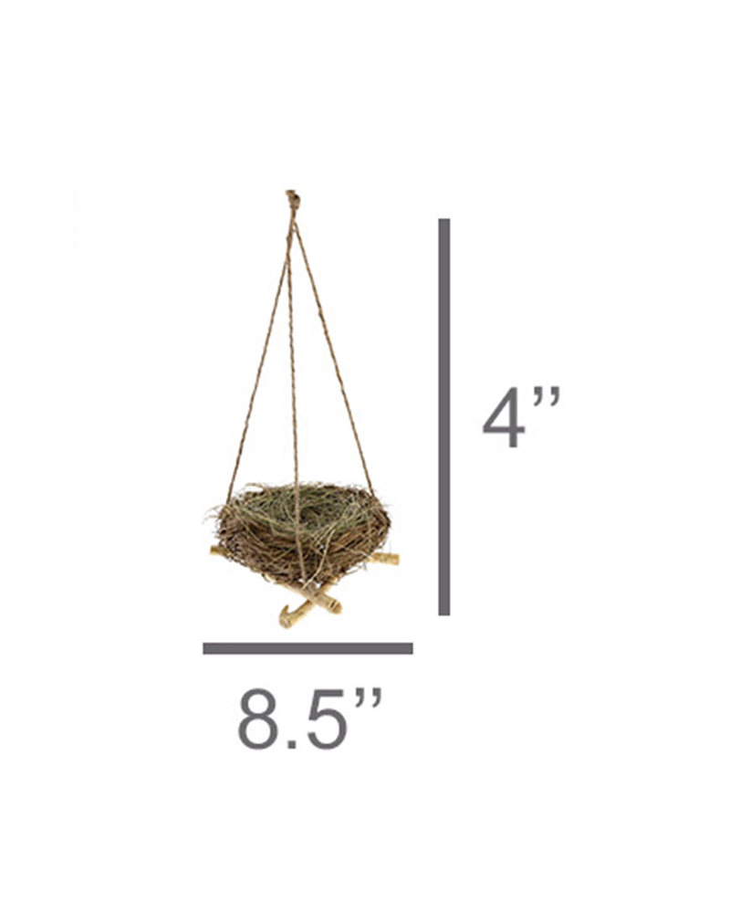 HomArt Hanging Nest with Jute