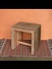 HomArt Arcadia Stool, Reclaimed Wood