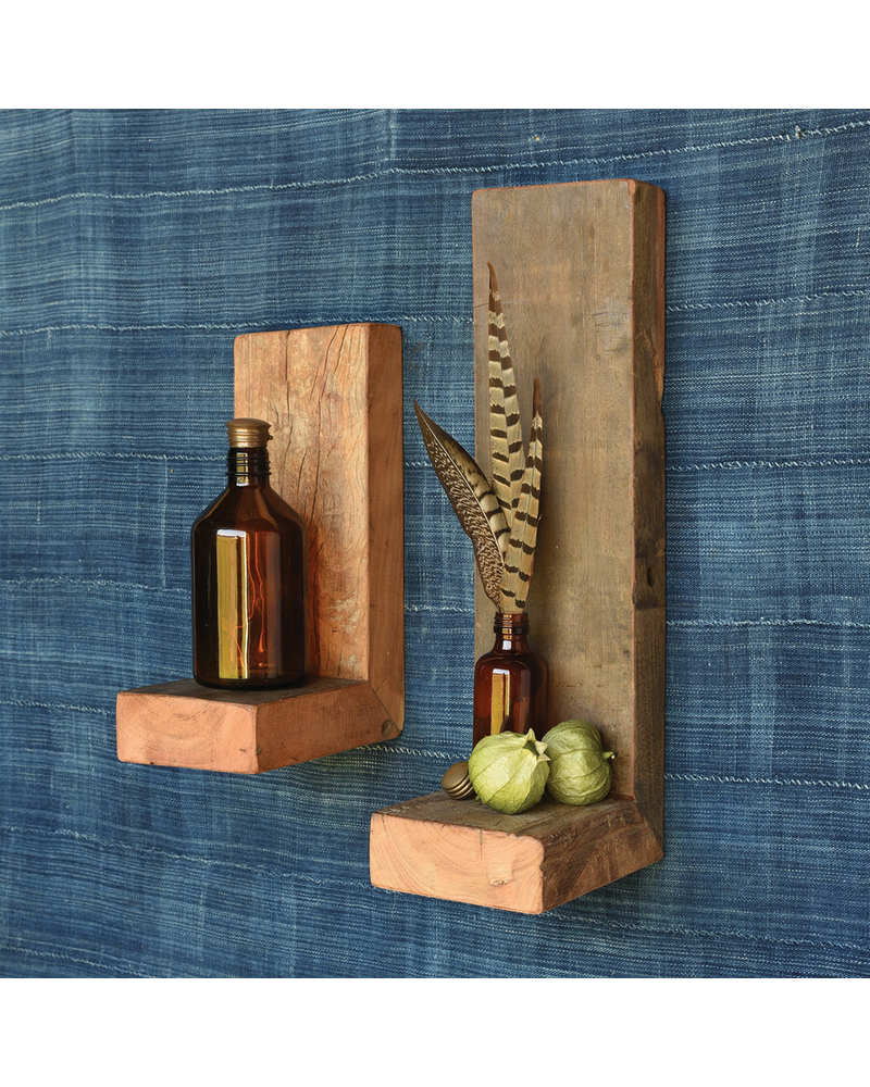 HomArt Ladera Shelf, Reclaimed Wood - Sm