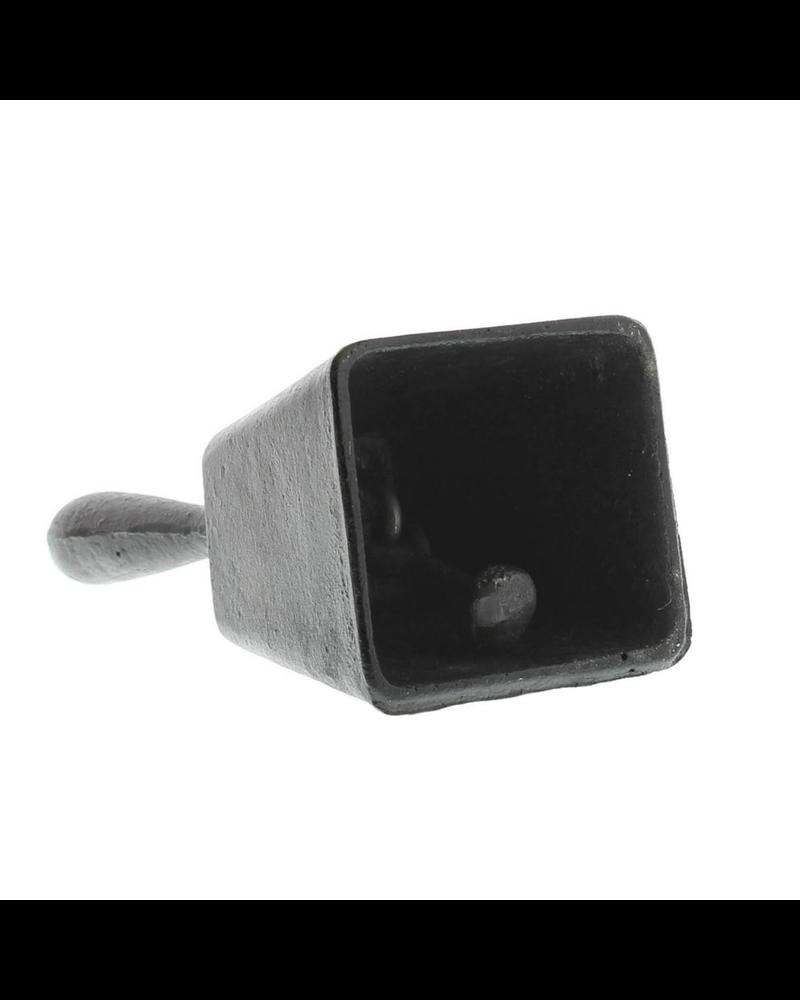 HomArt Elementary Bell - Cast Iron - Antique Black
