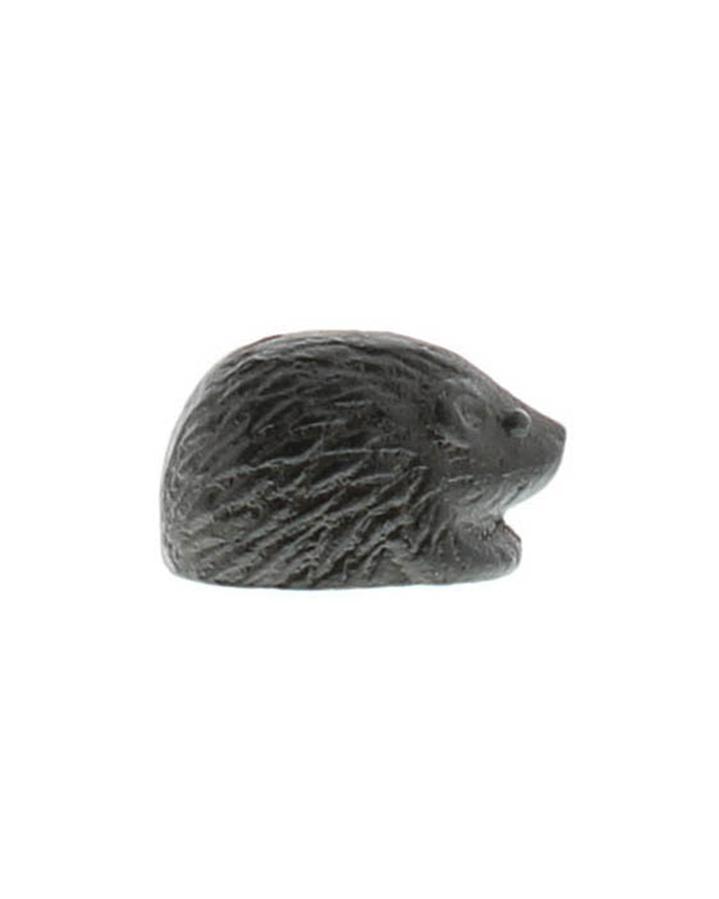 HomArt Brown Cast Iron Hedgehog - Set of 3