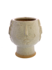 HomArt Duke Cachepot, Ceramic - White