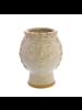 HomArt Duchess Cachepot, Ceramic - White