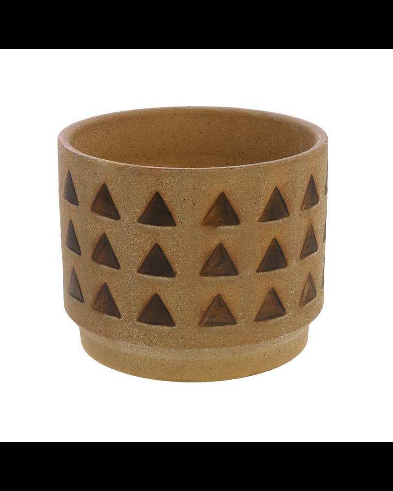 HomArt Inca Cachepot, Ceramic