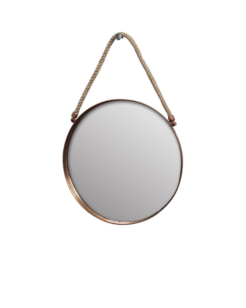 HomArt Cornell Copper Mirror - Sm - Copper