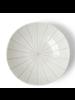 "Miya Company Kasa White 6.75""x1.75"" Bowl"