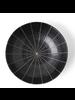 "Miya Company Kasa Black 6.75""x1.75"" Bowl"