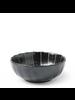 "Miya Company Kasa Black 4""x1.5"" Bowl"