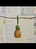HomArt Pineapple Ornament, Glass