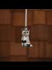 HomArt Racoon Ornament, Glass - Set of 2