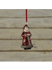 HomArt Santa Ornament, Glass