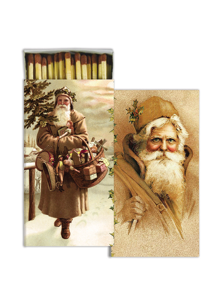 HomArt Father Christmas - - Matches Set of 3 Boxes