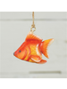 HomArt Painted Metal Goldfish Ornament