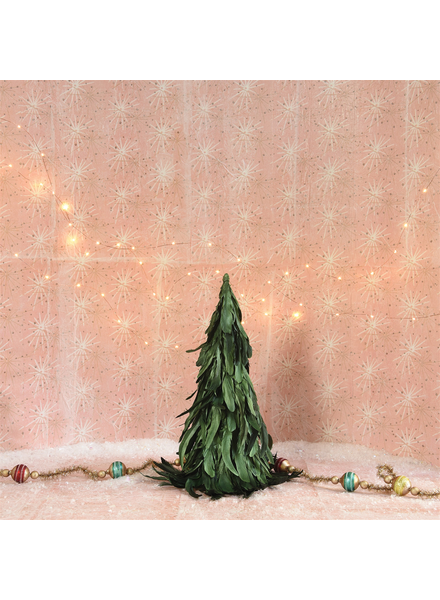 HomArt Feather Tree - Sm - Green Luster