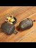 HomArt Acorn Box - Cast Iron - Brown