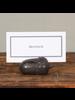 HomArt Acorn Place Card Holder - Brown - Set of 4