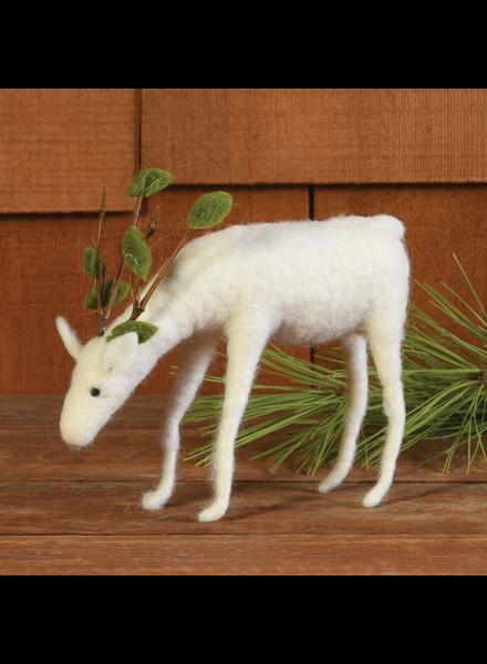 HomArt Felt Reindeer, Grazing
