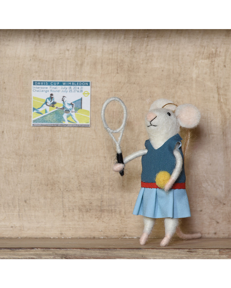 HomArt Tennis Player Gal Mouse