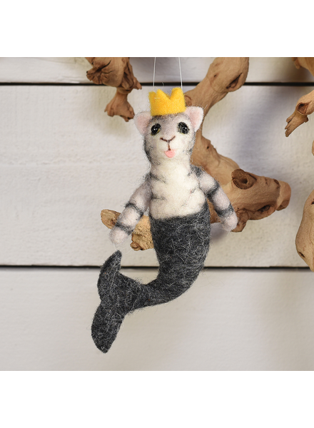 HomArt Mermaid Cat, Grey