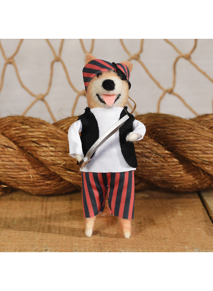 HomArt Dog Pirate with Sword