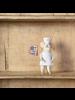 HomArt Chef Mouse Ornament - White