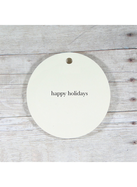 Away Laughing Paperworks Happy Holidays Gift Tags