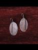 OraTen Leaf Silver Earrings
